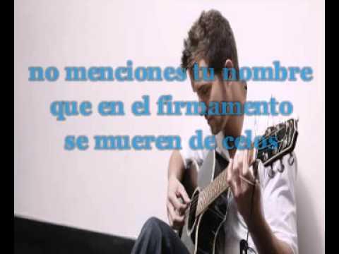 Karaoke Solamente tú- Pablo Alboran