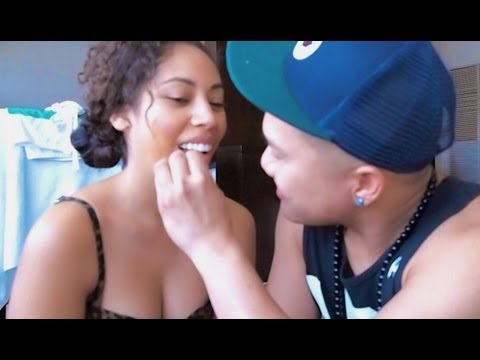 Boyfriend Does Girlfriend s MakeUp Tag- Timothy DeLaGhetto and Chia