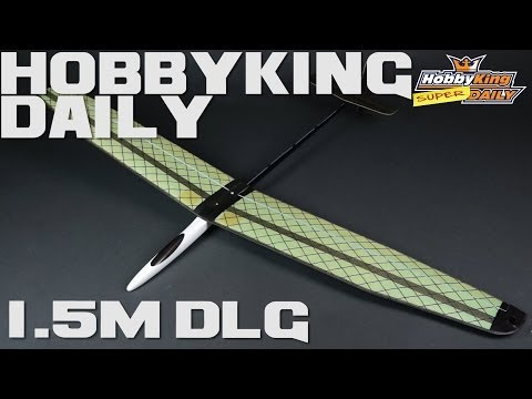 HobbyKing Super Daily - 1.5M Discus Launch Glider