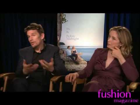 Ethan Hawke Julie Delpy Before Midnight interview