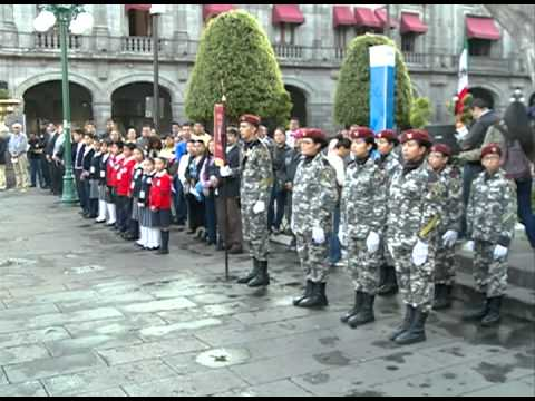 Puebla celebra 484 años de su fundación