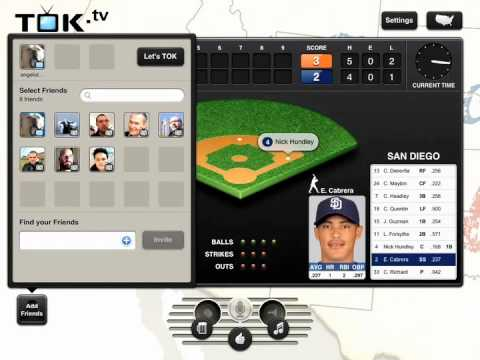 TOK Baseball Demo