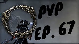 ESO - PvP Fun Episode 67 (Magicka Dragonknight/Stamina Warden) - EPIC MOMENTS - Nesquik Kid