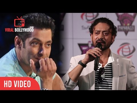 Irrfan Khan Crazy Reaction On Salman Khan's Rape Comment Controversy | Very Funny