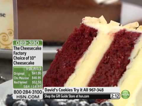 Cheesecake Factory 10″ Red Velvet Cheesecake