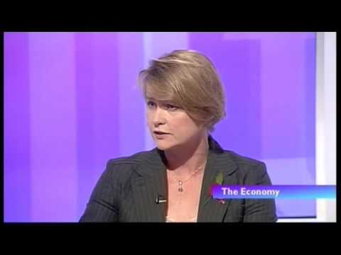 Yvette Cooper grilled by Andrew Neil on UK debt