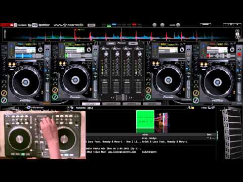 Mix Electro & House Summer 2012 (n°16 HD by Le Dj VIRTUEL) virtual dj - mix
