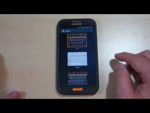 Swype Keyboard Tutorial (June 2013)