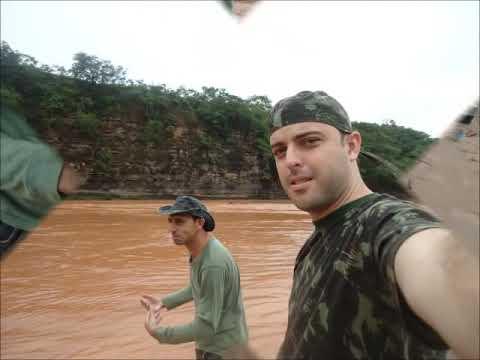 Acampamento e pesca rio abaeté