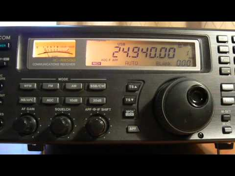24940khz,Ham Radio,JA3EGZ(Taishi-cho Ibo-gun Hyogo,Japan) 10-07UTC.