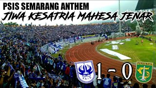 Merinding !!! Psis Anthem Jiwa Kesatria Mahesa Jenar || After Match Psis 1 - 0 Persebaya At Magelang