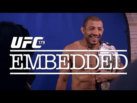 UFC 179 Embedded Vlog Series  Episode 1