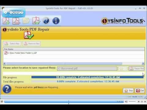 SysInfoTools PDF Repair
