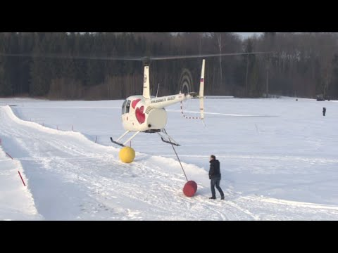 Just another round of helicopter golf in Russia…Wait, what?