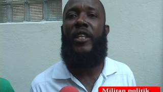 VIDEO: Haiti - Kek Militan bay opinion yo sou Arrestation  Rony Timothée