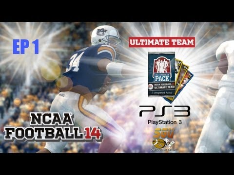 NCAA Football 14: PS3 Ultimate Team - EP1