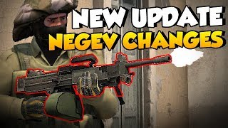 CS:GO - New Negev changes are scary...