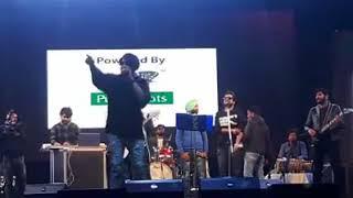 NINJA LIVE CONCERT IN CHANDIGARH UNIVERSITY | CU FEST NEHA KAKAR | FEROZ KHAN 2018