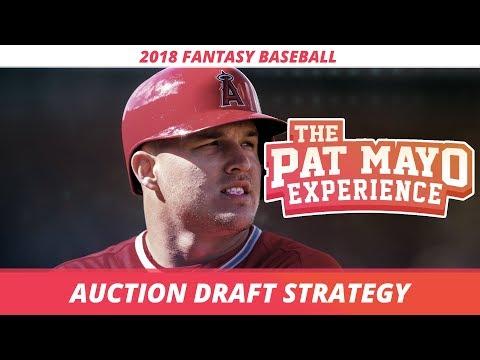 2018 Fantasy Baseball: Auction Draft Strategy, Tips and Tricks