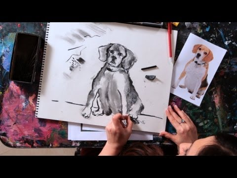 How to Sketch a Dog | Drawing Tutorial