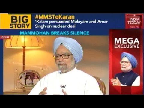 Manmohan Singh Talks About Kalam, Controversies Surrounding UPA