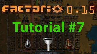 Factorio Tutorial #7 - Basic Oil Processing