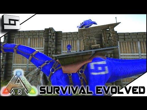 ARK: Survival Evolved - NEW WAR PAINT! S2E14 ( Gameplay )