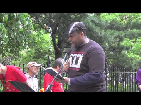 Jose Vilson @ Taking Back Our Schools Rally & March, New York, NY - 17 May 2014