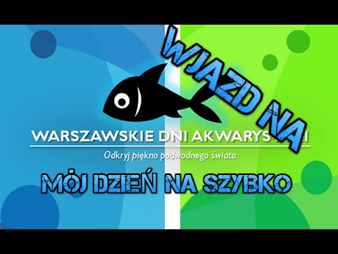 Wjazd Na Warszawskie Dni Akwarystyki 2016 - Na Luzie I Na Szybko