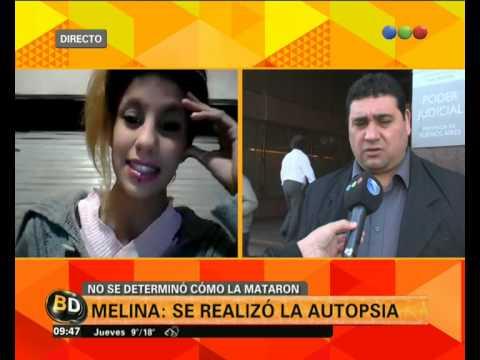 La autopsia de Melina: habla el abogado de uno de los detenidos - Telefe Noticias