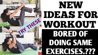 NEW IDEAS FOR WORKOUT/DAILY ROUTINE CHALLENGE/PILATES