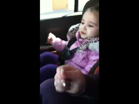 2 Year Old Singing Nicki Minaj Turn Me On video