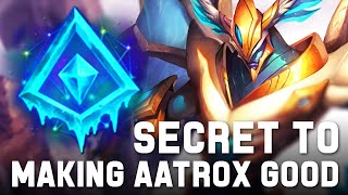 WAIT CAN THIS KEYSTONE SAVE REWORKED AATROX ? GLACIAL AUGMENT HELPS YOU ENSURE YOUR Q's LAND !