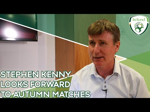 INTERVIEW | Stephen Kenny looks forward to autumn matches