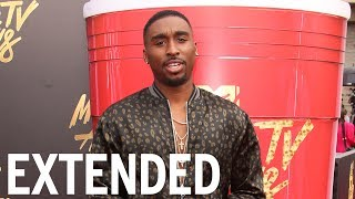Demetrius Shipp Jr. Squashes Tupac Conspiracy Theories | EXTENDED