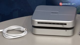 Promise Pegasus J4 thunderbolt harddisk review - Hardware.Info TV (Dutch)