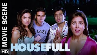 Papa asli hai | Housefull | Movie Scene