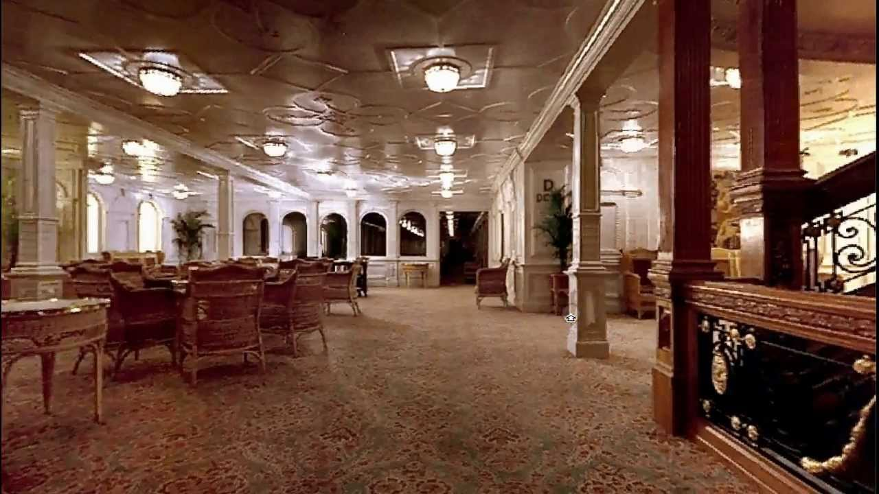 Onboard Titanic D Deck Reception Youtube