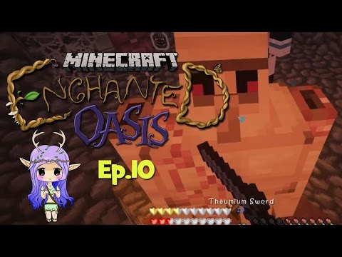 DEATH BY CLAY Minecraft Enchanted Oasis Ep 10