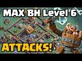 Builder Hall Level 6 Attacks Clash Of Clans Night Witch Gameplay CoC Update June 2017 mp3