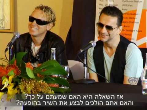 Depeche Mode Press Conference (Israel 05.09)