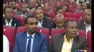 Prime minister Hailemariam Desalegne talks about the people and the opposition parties