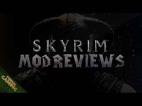 Skyrim Mod Reviews #42- Animated Dragon Wings