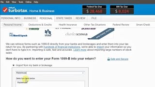 How to File Your Investments with TurboTax