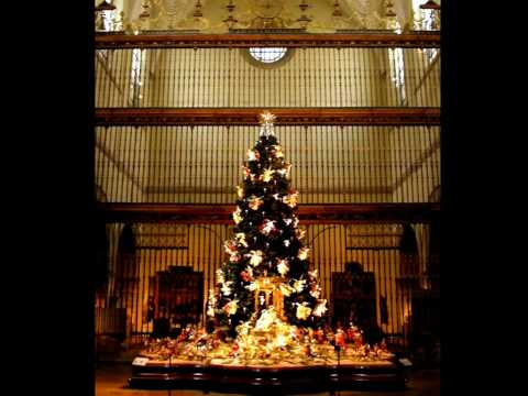 Christmas Tree and Crèche at The Metropolitan Museum of Art