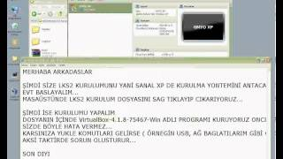 1 LKS2  VirtualBox KURULUMU 1