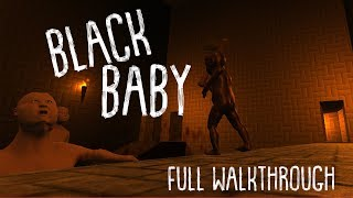 'Black Baby' Game Full Walkthrough | NEW GAME+