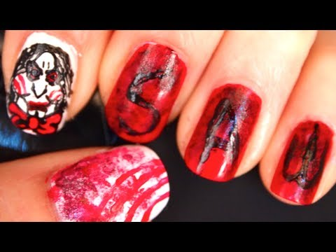 HORROR MOVIE NAILS: SAW