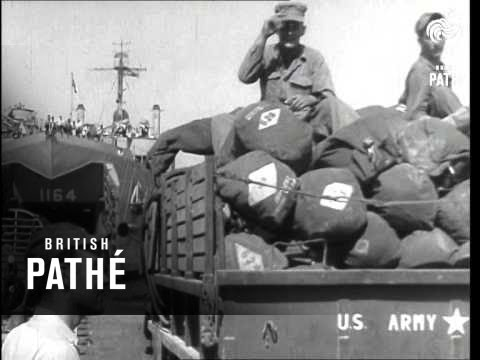 U.S. Marines Begin Lebanon Exodus AKA Marines Begin Lebanon Exodus (1958)