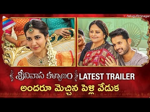 Srinivasa Kalyanam Latest Trailer | Nithiin | Raashi Khanna | 2018 Telugu Movies | Telugu Filmnagar